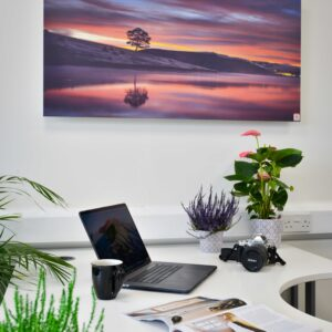 Personalised printed aluminium infrared heater