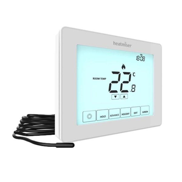 Touchscreen infrared thermostat