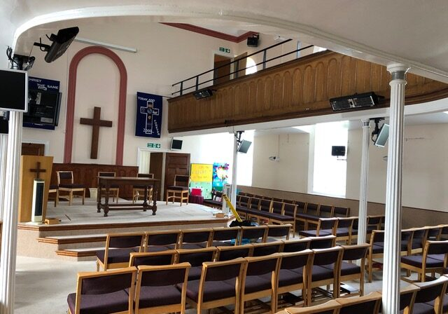 Church Infrared Heating System